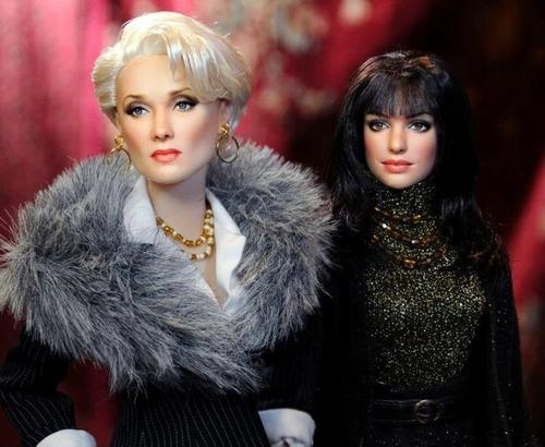Diabo Veste Prada: Noel Cruz, Devil Wears Prada, Devil Wear Prada, Fashion Dolls, Barbie Dolls, Celebrity Dolls, Diabo Vest Prada, Meryl Streep, Anne Hathaway