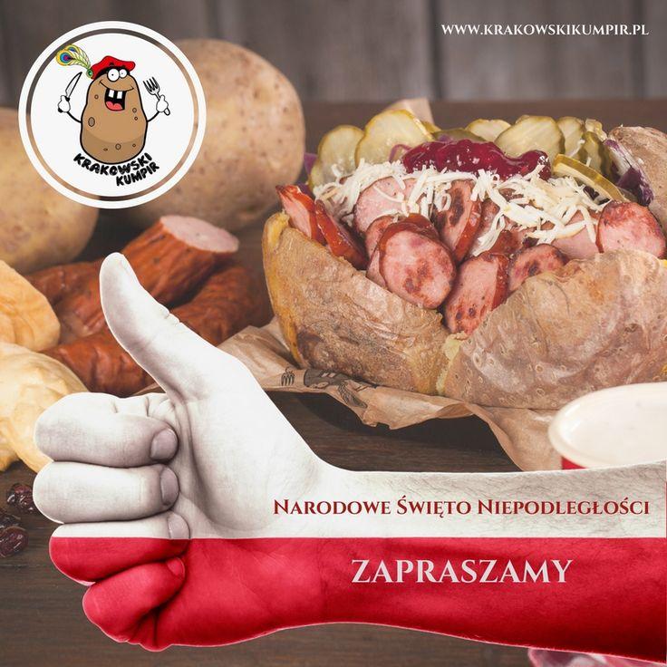 INFORMUJEMY, ŻE DNIA 11 LISTOPADA KRAKOWSKI KUMPIR OTWARTY JEST BEZ ZMIAN. ZAPRASZAMY :)  #krakowskikumpir #kumpir #bar #pieczonyziemniak #ziemniak #potato #bakedpotatos #kraków #krakow #rzeszów #rzeszow #warszawa #stolica #katowice #polska #poland #googfood #food #jedzenie #zawsześwieże #szefkuchni #jesień #autumn #nachandrę #blues #online #długiewieczory #shopping #świętujemy #11 #listopada #information