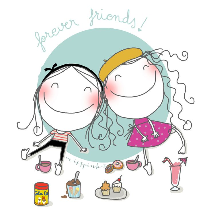 Forever friends by misspink. www.misspink.es