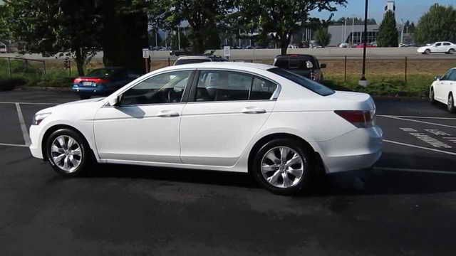 2009 White Honda Accord Honda Accord Honda Accord