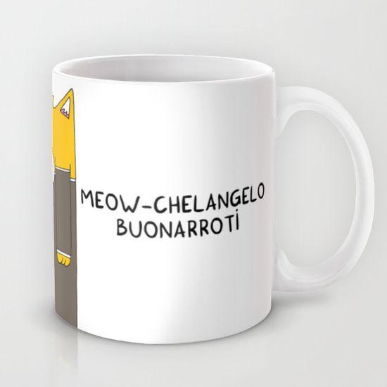 Meow-chelangelo Buonarroti Mug