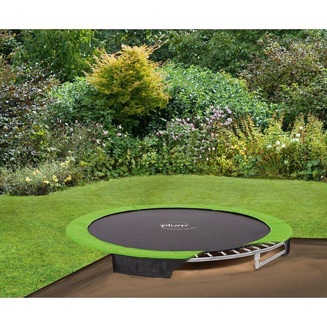 Plum Boden Trampolin 244 Cm Gunstig Online Kaufen Plus De Bodentrampolin Hintergarten Hinterhof Designs