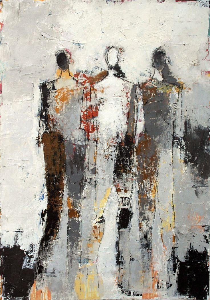 Julie Schumer Three Figure Study No 15