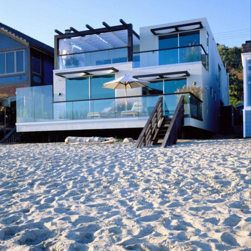 To walk onto the beach from your porch..the dream