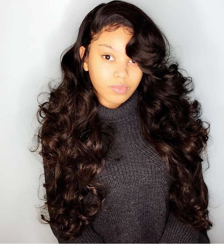 Fantastic 876 Best Images About Long Sew In Hairstyles On Pinterest Human Short Hairstyles Gunalazisus
