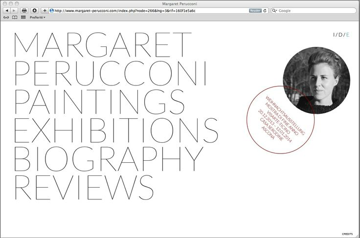 margaret-perucconi.com / Homepage
