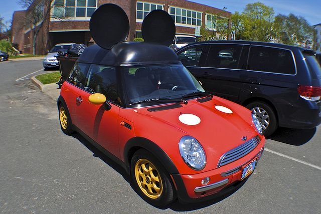 Mickey Mouse Mini by Wires In The Walls, via Flickr