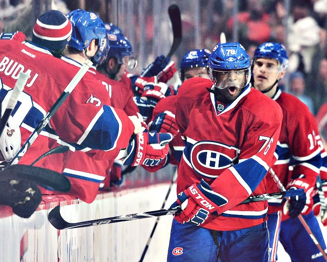 P.K. Subban and the Habs