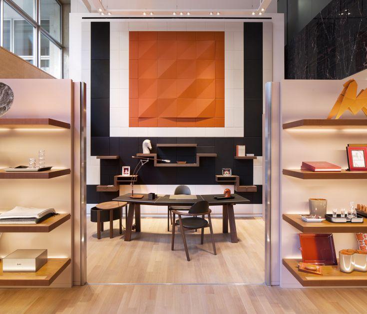 Hermes Vip Room At Newly Refurbished London Store New Bond Street Interior Interior Design Hermes Home