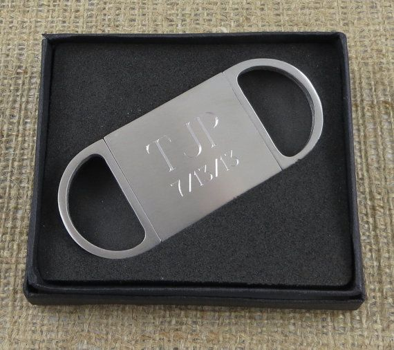 Personalized Cigar Cutter - Guillotine Cutter - Groomsmen Gift - Gifts For Men - Golf Gift (GC155) on Etsy, $17.99