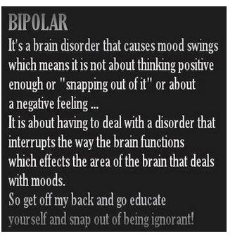 bipolar disorder and normal relationships with What is bipolar disorder, and how can it take a toll on your dating life and your relationships.
