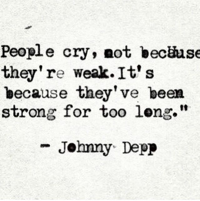 This is the truth if I cry, and that's rare I ever do cry.