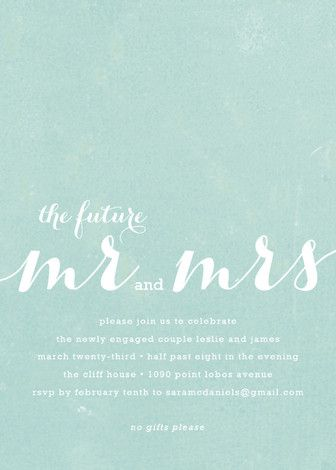 engagement party invitations: http://www.confettidaydreams.com/engagement-party-invitations/