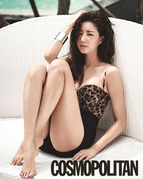 Kim Sa-rang (Hangul: 김사랑; born January 12, 1978), South Korean actress - Cosmopolitan June 2013 | Beautiful Korean Artists