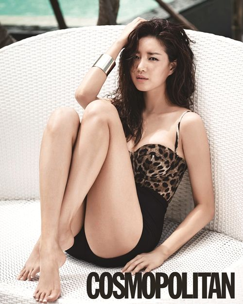 Kim Sa-rang (Hangul: 김사랑; born January 12, 1978), South Korean actress - Cosmopolitan June 2013 | Beautiful Korean Artists