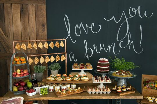 "Cute wording: This could be cute title for the shower on invites. ""I Love You A Brunch"" with sunflower theme!"