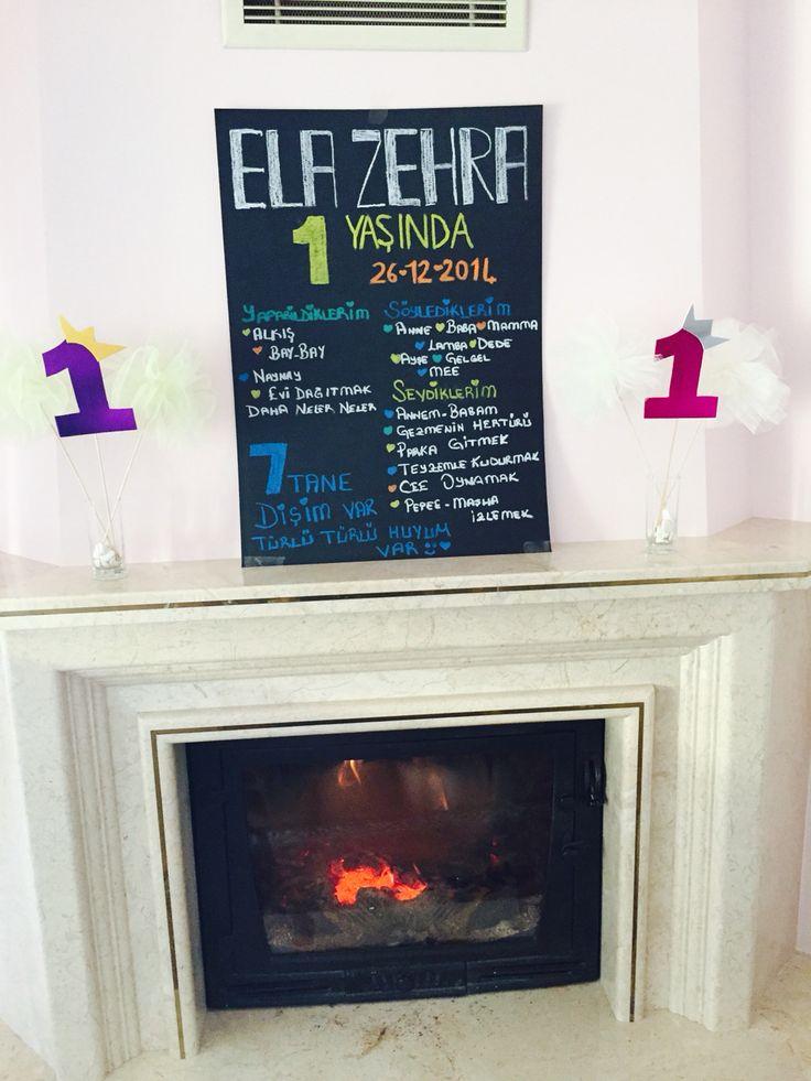 Doğum günü süsleme , chalkboard , karatahta