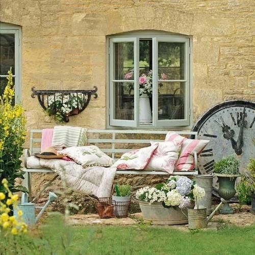 95 best knot too shabby beach house cottage and shabby chic stuff images on pinterest - Garden furniture shabby chic ...