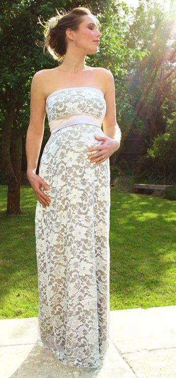 Veja 25 vestidos de noiva para grávidas - Fotos - R7 Mulher