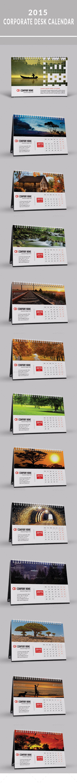 2015 Desktop Calendar Template   Buy and Download: http://graphicriver.net/item/2015-desktop-calendar-template/9518375?ref=ksioks