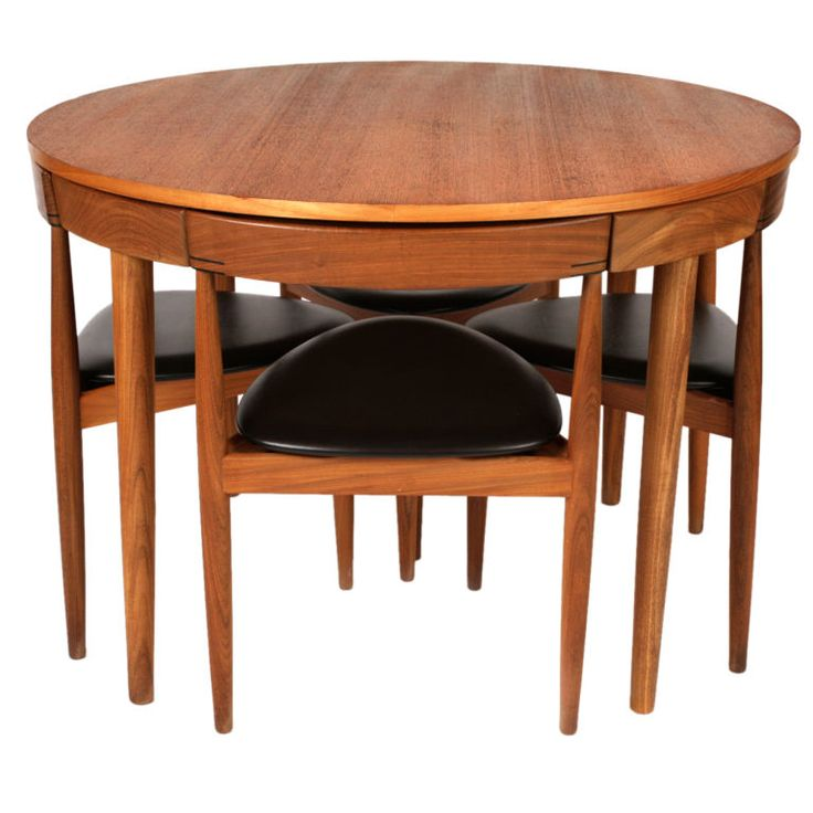Hans Olsen For Frem Rojle Dining Table Chairs