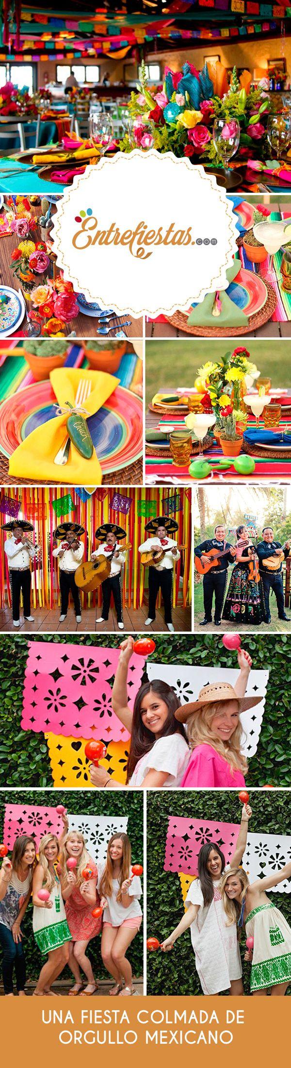 Los 5 de mayo de cada año se conmemora el orgullo mexicano, en honor a la liberación de fuerzas extranjeras. Realiza una fiesta a todo dar y celebra la riqueza de la tierra mexicana. Destaca las costumbres más populares de la nación azteca y sigue estos consejos para ofrecer una colorida y divertida recepción. ¡Y que viva México!