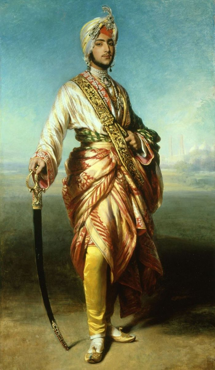 Franz Xaver Winterhalter - Le Maharaja Duleep Singh