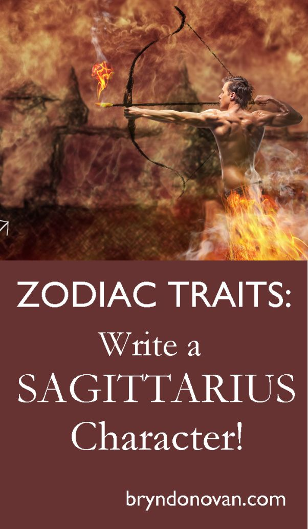 Zodiac Traits - Write a Sagittarius Character! #astrology #writing
