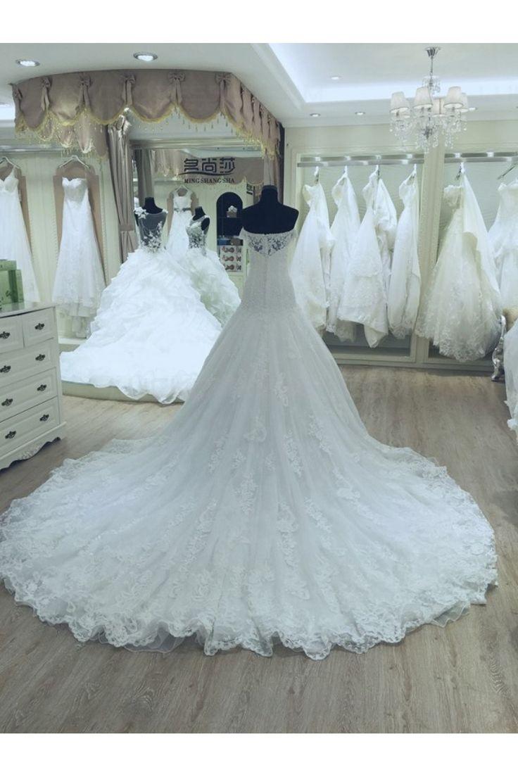 The 421 best Wedding Dresses images on Pinterest | Wedding frocks ...