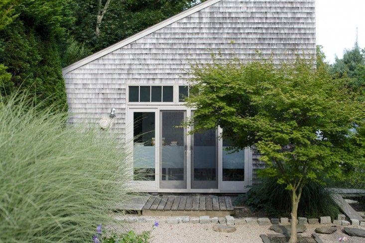 Artist Georgia Marsh Rhode Island garden Christine Chitnis; Gardenista