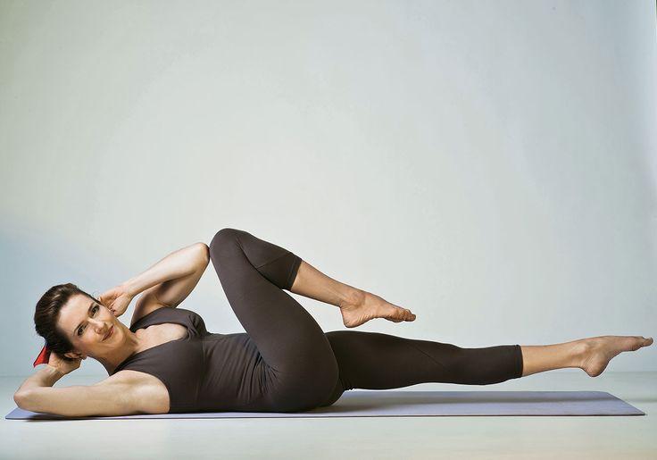 Os 4 melhores movimentos do pilates para desenhar o abdômen
