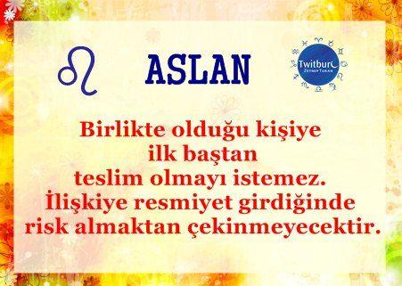 #Aslan Burcu #twitburc #astroloji