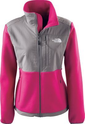 North face jackets black and pink