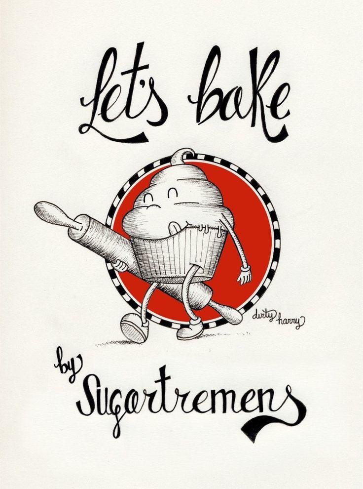 Let's bake, por Dirty Harry para www.sugartremens.com