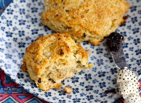 Baking soda (Recipe: raisin-banana scones) [ThePerfectPantry.com]
