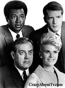 Ironside (1967–1975) - Cast and history: http://www.imdb.com/title/tt0061266/  Theme music: http://www.youtube.com/watch?v=G_tGF-t7YWg