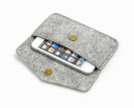 100 Wool Felt iPhone5 5s 5c Sleeve iPhone4 Case от ArtsWool