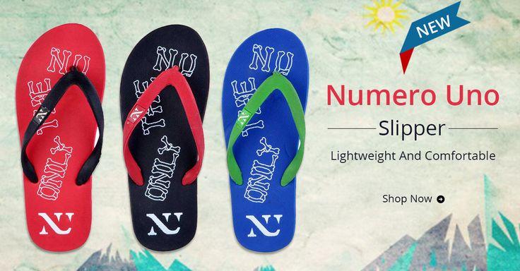 Stylish Numero Uno Slipper @ Rs.279 Only