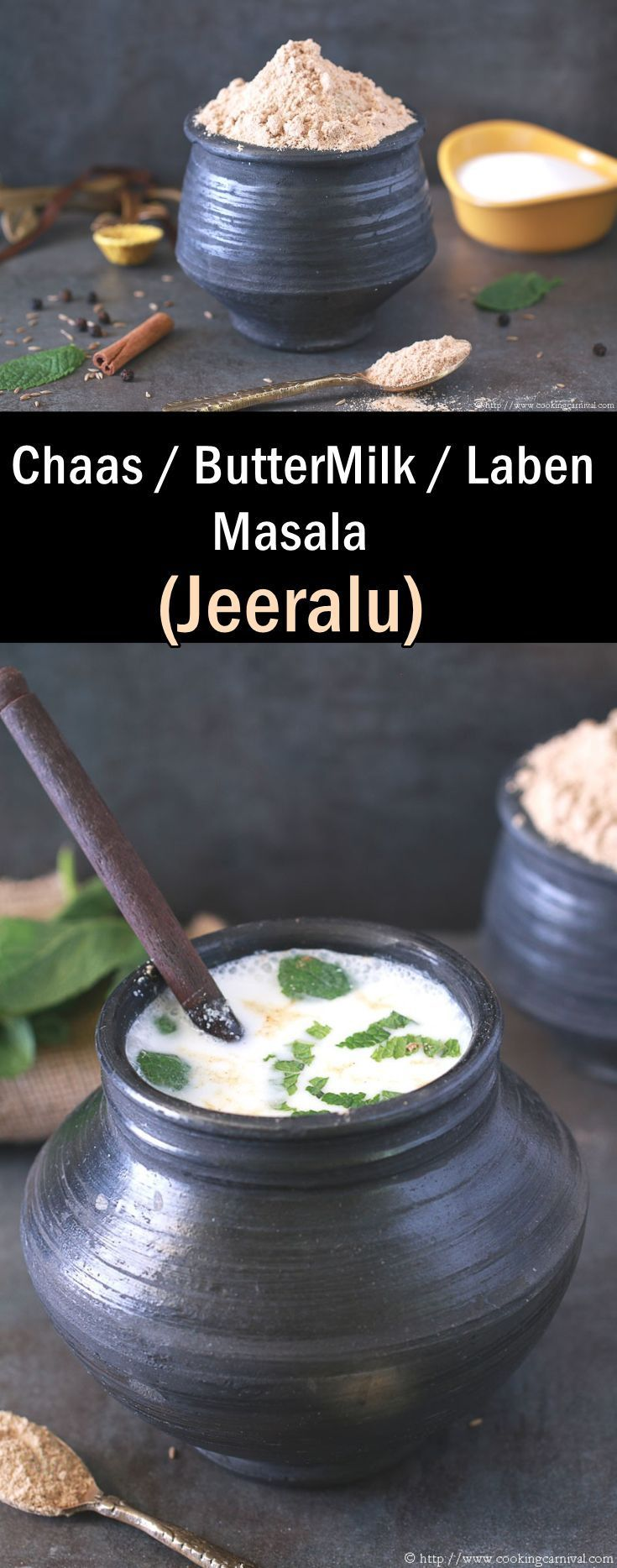 Chaas Masala / Jeeralu is very flavorful and digestive spice blend. Chaas / Laben / Buttermilk is a very popular drink in India, especially during summer. Its more healthier than juices and other drinks. Every family have their own masala recipe. This is my Mother In Laws recipe. She make this every year. You can easily store this up to a year at room temperature. Chaas Masala is Multipurpose. You can sprinkle this masala on fruits, season your salad, sprinkle over sandwiches or make…