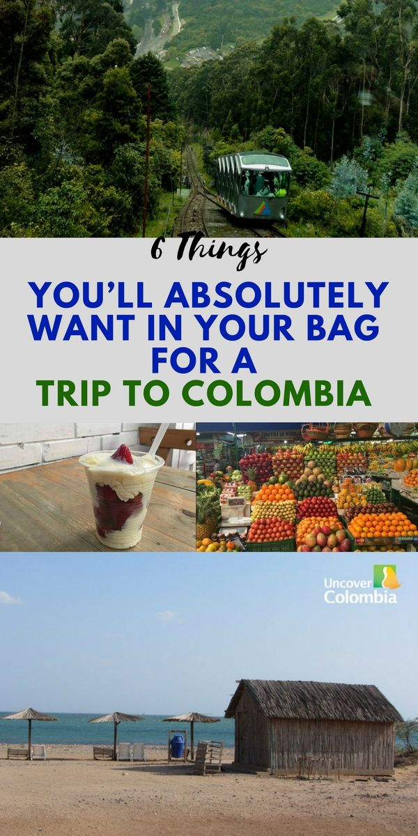 Don't head to Colombia without these items!