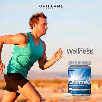 ¿Te cuesta encontrar regalos para un hombre? ¡Haz como ellos y sé práctica! Este complejo contiene 12 vitaminas y 10 minerales, especialmente elaborado para cubrir las necesidades diarias de un hombre en 60 tabletas. #Wellness #Salud #Vitaminas #ForMen #OriflameMX