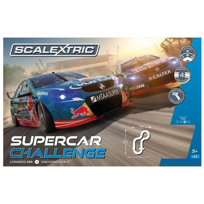 SCALEXTRIC SUPERCAR CHALLENGE - LOWNDES VS VAN GISBERGEN - Model Cars - Accessories