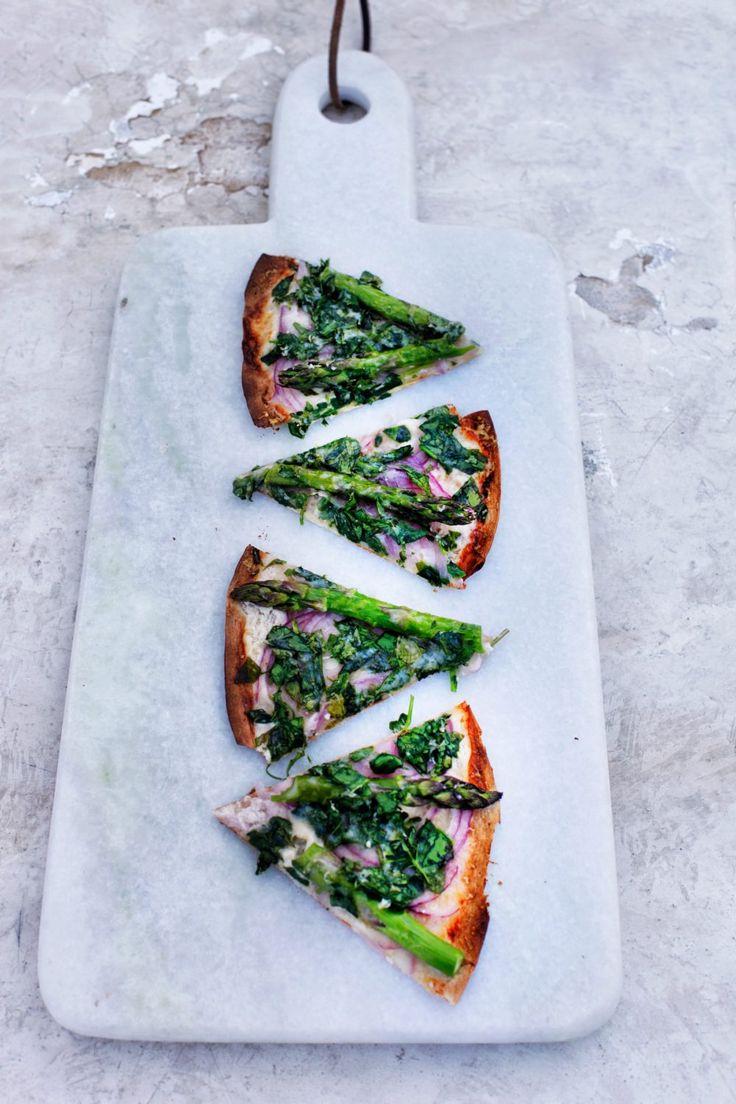Grøn pizza