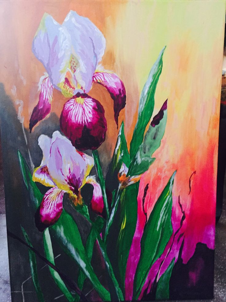 Iris acrylic