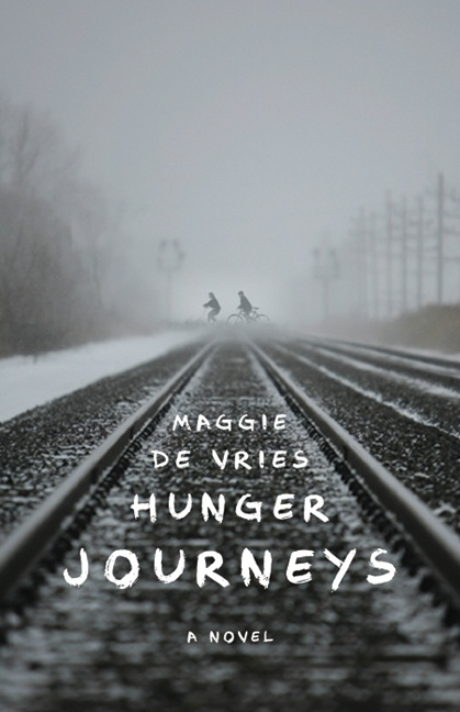 """Hunger Journeys"" by Maggie de Vries - winner of the 2011 Sheila A. Egoff Children's Literature Prize"