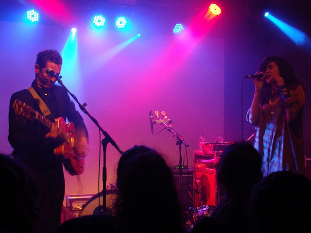The Legendary Tigerman & Cibelle performing at XOYO, London 2011