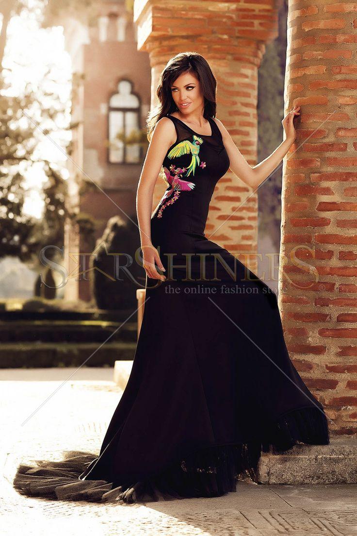 StarShinerS Brodata Paraiso Black Dress