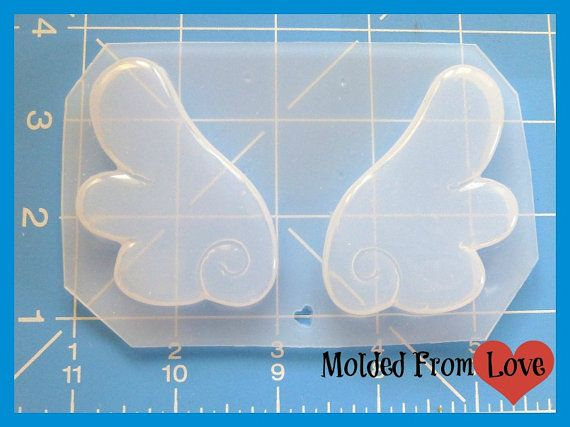 SALE Kawaii Large wings handmade Plastic Mold