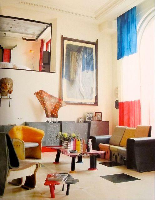 Interior By Gaetano Pesce. Paris