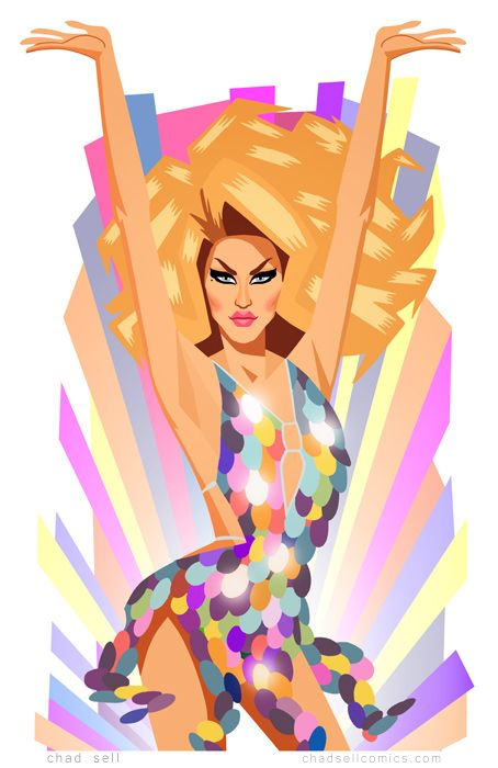 Adore Delano by Chad Sell: last Challenge Rupaul's Drag Race Season 6